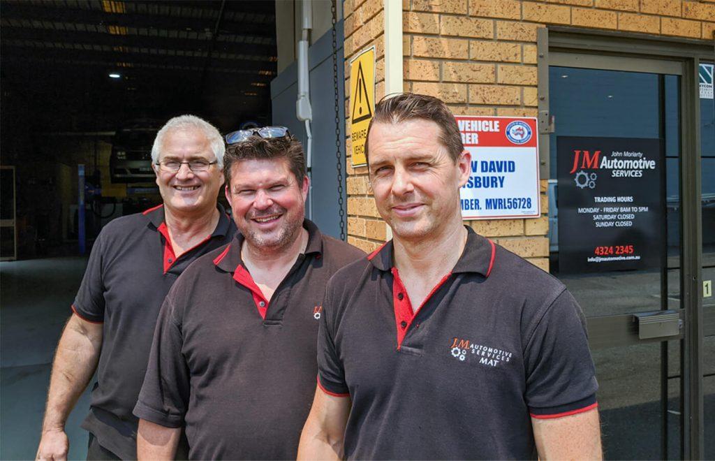 JM Automotive West Gosford meet the guys
